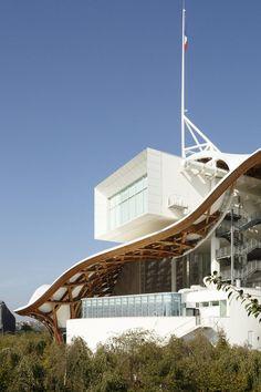 Pompidou Metz Restaurant Extension  / Studiolada Architects
