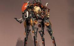 LEGO The Elephants - Salvador Dalí