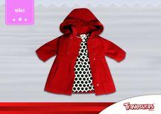 Colección fin de año 2015  Abrigo y vestido para niña. Más información en www.travesuras.com.co