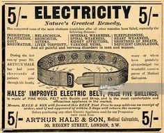 Arthur Hale Electric Belt, 1910.
