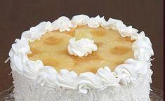 Ananásztorta 2. Hozzávalók: 1 db 6 tojásos piskóta tortalap 1 nagy doboz ananászkonzerv / körszeletes 2 dl tej 2... Tej, Vanilla Cake, Food And Drink, Mascarpone
