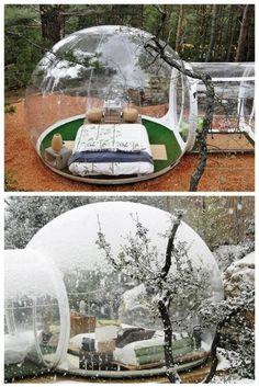Genius Outdoor Bubble Room Idea | DIY Tag
