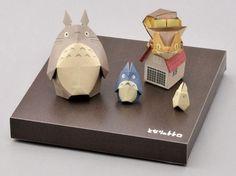 Totoro origami set