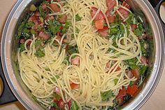 Mykonos - Spaghetti (Rezept mit Bild) von Luthie   Chefkoch.de