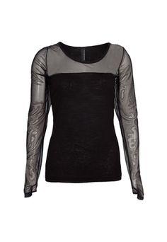 Blusa Maria Bonita Extra Lisa Preta - Compre Agora | Dafiti Premium