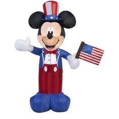 Airblown Inflatable Patriotic Mickey