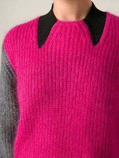 Kenzo colour block sweater