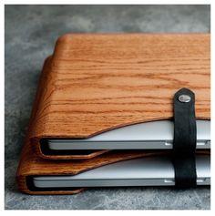 Wooden Macbook Case. #gadgets #apple #case