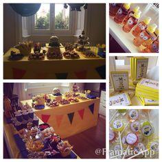 Minions theme Birthday Party!