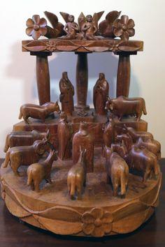 Adão de Lourdes. Presépio (2004). 55x55x45 cm