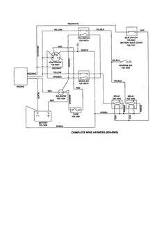 international 454 tractor wiring diagram 1997 dodge dakota 25 mejores imagenes de diagrama electrico tractores mtd lawn and by yard machines diagrams