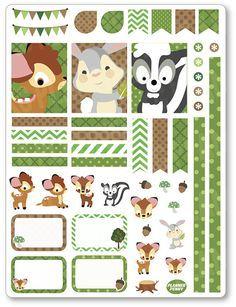Bébé cerf décoration Kit / Spread hebdomadaire par PlannerPenny