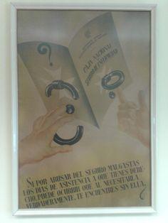 Cartel en el ambulatorio Fontenla Maristany. ¡Frases para la Historia!