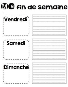 Le cahier de Pénélope: Mes ateliers d'écriture Teaching Tools, Teacher Resources, Teaching Kids, French Teacher, Teaching French, Core French, French Classroom, French Resources, French Immersion
