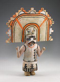 Butterfly Maiden Kachina by Hòpituh Shi-nu-mu (Hopi), The Minneapolis Institute of Arts Native American Dolls, Native American Pottery, Native American Artifacts, Native American History, Native American Indians, Art Premier, Southwest Art, American Indian Art, Arte Popular