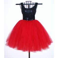 Red Adult Tutu Skirt Teen 35