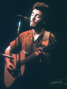 """""""It was less physically aggressive, with more swinging, Latin, soul influences,"""" Bruce Springsteen on his first two LPs."""
