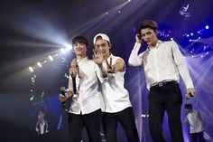 D.O, Chen, and Sehun | official SMTOWNnow 140826 update '-The Lost Planet- in Singapore'