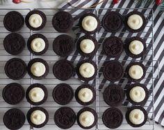 Homemade Oreo cookies by www.fresshion.com