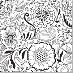 Amazon.com: Floral Designs Adult Coloring Book (31 stress-relieving designs) (Studio) (9781441317452): Peter Pauper Press: Books