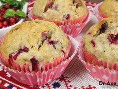 Gluten Free Berry Muffins Recipe by @draxe