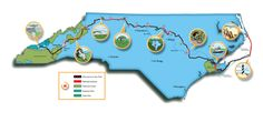 Have plans to hike the 692-mile mountains to sea trail? Use this informative guide to help you along the way.