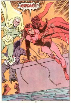 Scarlet Witch and Vision | scarletvision