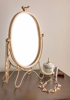 Tweet Yourself Right Mirror, #ModCloth