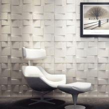 Panelen webshop - 3D-Wandpaneel Rubik & WallArt - Decorative Interior 3D Wall Panels - Textured Wall Decor ...