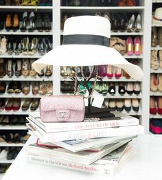 shoe storage, anyone?http://www.thecoveteur.com/kaley_cuoco