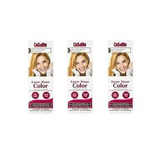 CoSaMo - Love Your Color Non-Permanent Hair Color 772 Light Golden Blonde - 3 oz. (Pack of 3)   FREE Curad Bandages 8 Ct. * This is an Amazon Affiliate link. Details can be found by clicking on the image.