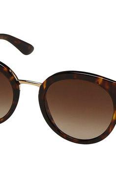 65df80e6bb07 Dolce & Gabbana DG4268 (Gold/Brown Gradient) Fashion Sunglasses - Dolce &  Gabbana