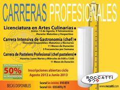 Carreras profesionales / Roccatti / Mty