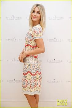 julianne hough hallmark signature card event nyc 07 Julianne Hough gives off a cheeky smile inside the photobooth at Hallmark Signature's pop-up shop during New York's Fashion Week on Wednesday (September 16) in…