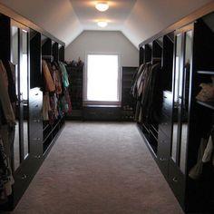 Attic Closets Design, Pictures, Remodel, Decor and Ideas