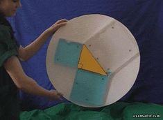math nerds unite! hint...it's a .gif...Cool Pythagorean Theorem Demonstration