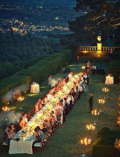 os Achados | Inspiração Casamento Toscano
