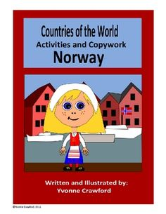 This booklet focuses on the country of Norway.  Your students will learn facts about Norway while practicing their manuscript and cursive handwriti...$1.50