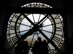 Massive Outside Clock from Gare d'Orsay Station