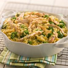 One Dish Chicken Broccoli und Reis Auflauf jaime bien la nourriture Lemon Chicken Rice, Chicken Broccoli Rice Casserole, Broccoli Bake, Leftover Turkey Casserole, Cooking Recipes, Healthy Recipes, Protein Recipes, Healthy Dishes, Quick Recipes