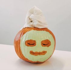 If it's still true that you think or intend to cook the pumpkin afterward, I advise using the acrylic since the chemicals aren't going to leach in the pumpkin itself. So you can now decorate the pumpkin. Since the pumpkin… Continue Reading → Diy Halloween, Humour Halloween, Halloween 2019, Holidays Halloween, Halloween Pumpkins, Happy Halloween, Halloween Costumes, Funny Pumpkins, Fall Pumpkins
