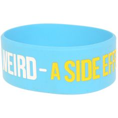 Weird Rubber Bracelet | Hot Topic ($5) Rubber Bracelets, Hot Topic, Jewelry Stores, Jewelry Accessories, Weird, Jewelry Findings