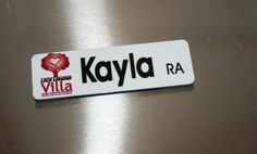 Digitial Printed Name Tags