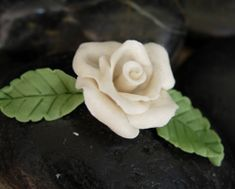 Have an extra slice of bread laying around?  Well, then you have almost everything you need to create this beautiful bread dough rose!