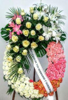 Envío de la corona de flores al tanatorio