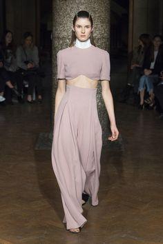 Emilia Wickstead Fall 2017 Ready-to-Wear Fashion Show - Alicia Holtz