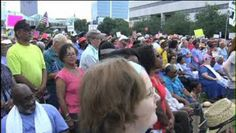 Latest Moral Monday protest largest yet; focuses on education - http://charlotte.citylocalbuzz.com/latest-moral-monday-protest-largest-yet-focuses-on-education/