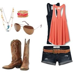 Cute+Outfits+with+Cowboy+Boots | Image detail for -Cute outfit!! I want the cowboy boots | Fashion