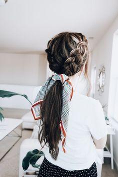 ☆ I N S T A: @paigehenze ☆ - #apaigehenze - #HairstyleCasual Box Braids Hairstyles, Pretty Hairstyles, Hairstyle Ideas, Hairdos, School Hairstyles, Wedding Hairstyles, Perfect Hairstyle, Redhead Hairstyles, Braided Ponytail Hairstyles