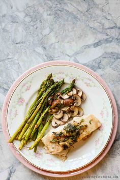 Oven Roasted Sea Bass - A Healthy Life For Me
